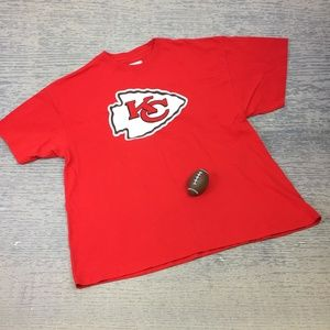 Like New NFL Chiefs red t shirt